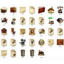 33 Antique Icon Styles