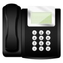 Office Style Telephone PSD and Icon