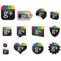 13 Google Plus1 PSD Icon Set