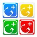 16 Colorful Google Plus Icon Set