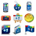 9 Creative Google+ Icons