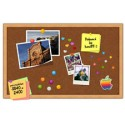Pinboard with Wooden Frame PSD