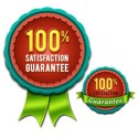 Free Satisfaction Guaranteed Ribbon and Badge
