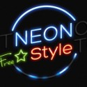 Neon Photoshop Text Effect