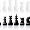 Black & White Chess Pieces