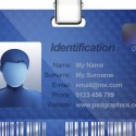Name ID Card Template