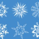6 Cool Snowflake Graphic Designs