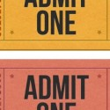 Realistic Admission Tickets