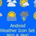 8 Free Android Weather Icons