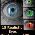 15 Realistic Eyes For Photoshop