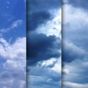 5 High Resolution Cloudy Sky Textures
