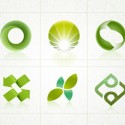 6 environment friendly logo design templates