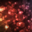 Colorful Abstract Cube Light Background