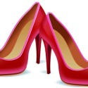 Pink High Heel Shoes Icon