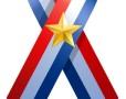 U.S.A. Flag Ribbon