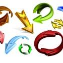 3D Arrow Collection (PSD)