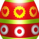 Creative, Colorful Easter Egg Template