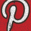 Grunge Style Pinterest Icon
