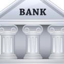 Vector Bank Building Graphic