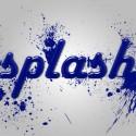 Splash Text Effect (PSD)