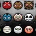 Halloween Monster Icon and Avatar Set