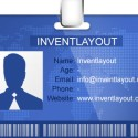 ID Badge Template (PSD)