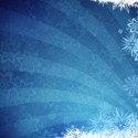 Grunge Style Blue Winter Background