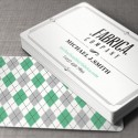 Retro Style Business Card Template (AI)