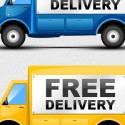 Free Delivery Truck Icons (PSD)