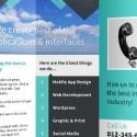 Editable Tri-Fold Brochure Mockup Template