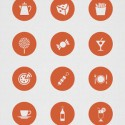 Restaurant  Icon Set for Photoshop