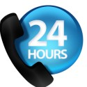 24 Hours Phone Contact Icon
