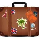 Suitcase Travel Icon PSD