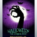 Halloween Horror Party Poster Template