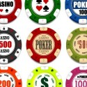 9 Realistic Poker Chips Casino Related Graphics