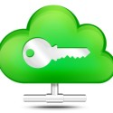 Cloud Storage Secure Icon