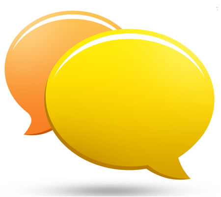 Chat Bubble PSD