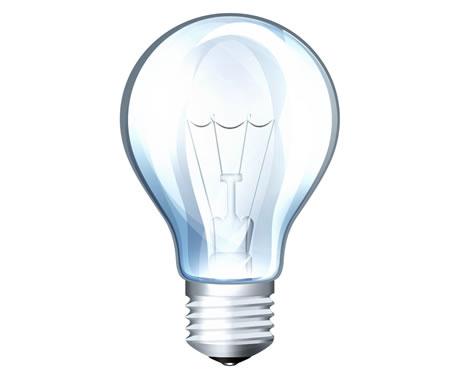 Light Bulb PSD Icon
