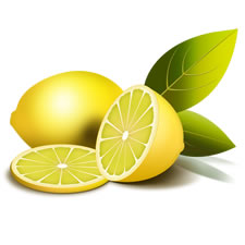 Lemon Fruit PSD and Icon Pack