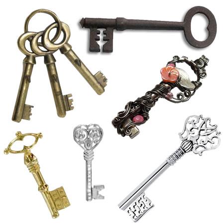 Transparent Skeleton Keys