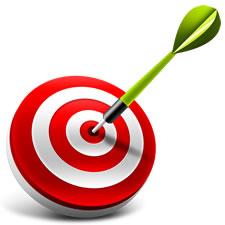 Dart Board & Target PSD