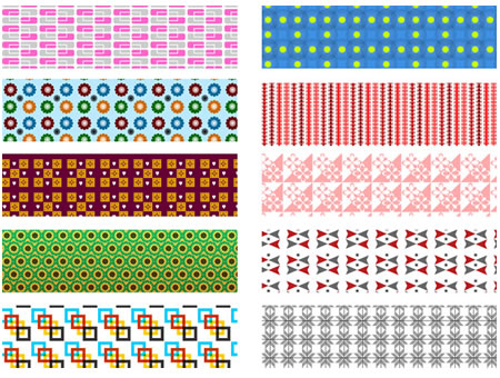 Download the 10 Patterned Backgrounds