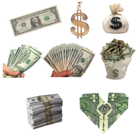Money Cash PNG Images