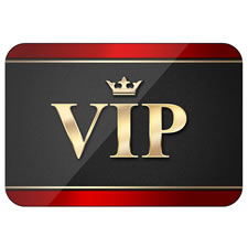 VIP Card PSD Template