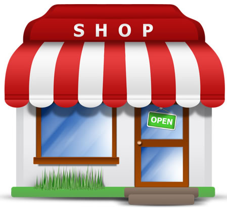 Web shop Store Icon Download