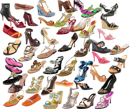 Women's Fashion Shoes Icon Images Download