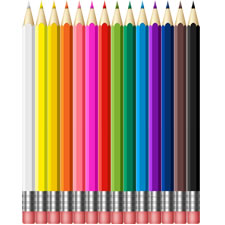 Colored Pencils PSD