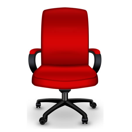 Red Chair PSD