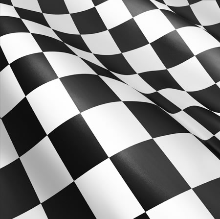 Black & White Abstract Cube Background