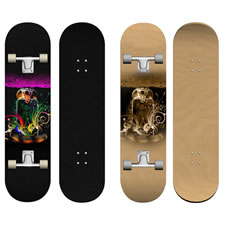 Skateboard PSD Template